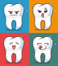 طرح لایه باز وکتور دندان
